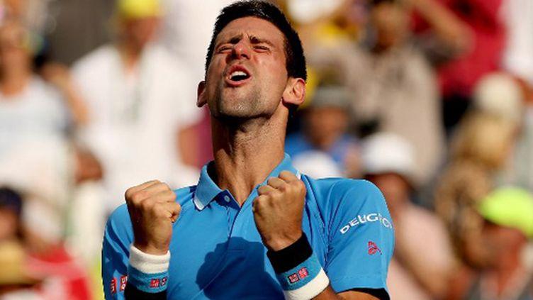 Le N.1 mondial Novak Djokovic