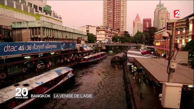À la découverte des canaux de Bangkok