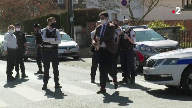 Attaque au couteau à Rambouillet : vive émotion et colère des forces de l'ordre