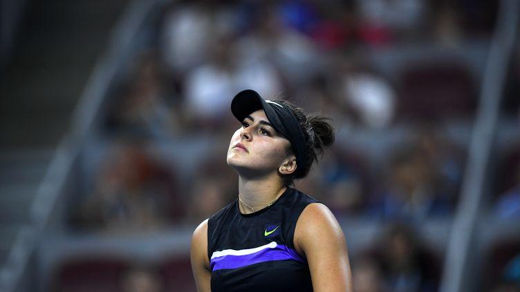 Bianca Andreescu au tournoi de Pékin (LI YIBO / XINHUA)