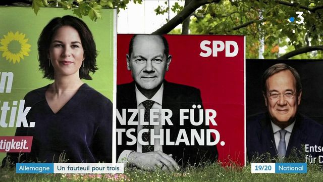 Allemagne : trois candidats se disputent le fauteuil d'Angela Merkel