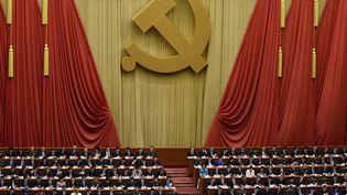 Près de 2.300 délégués participent, à Pékin, au XIXe congrès du parti communiste chinois (WANG ZHAO / AFP)
