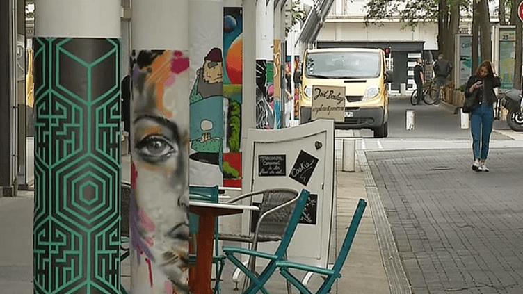 Le quartier du Paquebot à Saint-Nazaire a pris des couleurs de street-art  (France 3 / Culturebox )