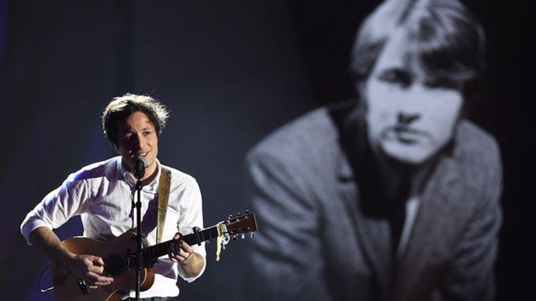 Vianney rend hommage à Delpech aux Victoire de la Musique  (Bertrand Guay/AFP)
