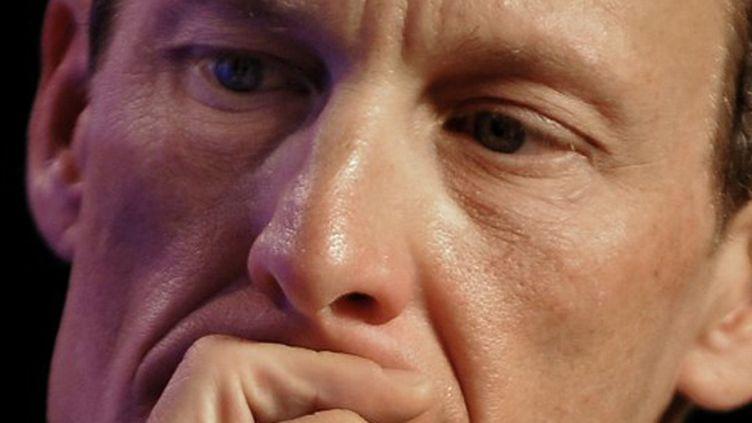 L'Américain Lance Armstrong