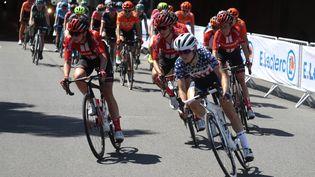 Une étape de l'UCI World Tour féminin à Pau, en juillet 2019. (LAURENT LAIRYS / MAXPPP)