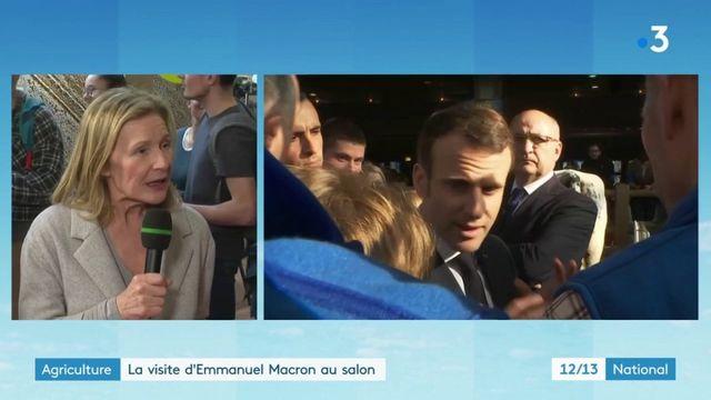 Salon de l'agriculture : Emmanuel Macron face au monde rural