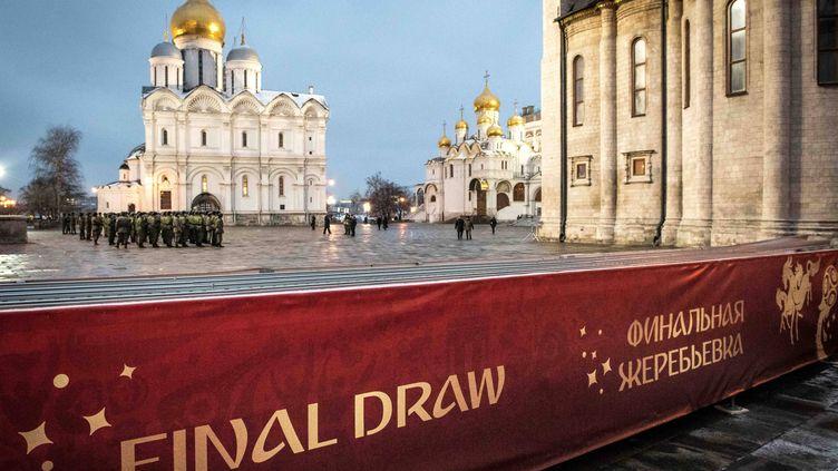 Le Kremlin, théâtre du tirage au sort de la Coupe du monde 2018 en Russie
