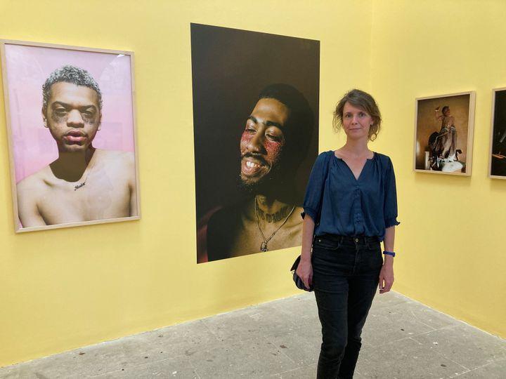 Aurélie de Lanlay, directrice adjointe des Rencontres de la photographie, Arles, 19 juillet 2021 (Laurence Houot / FRANCEINFO CULTURE)