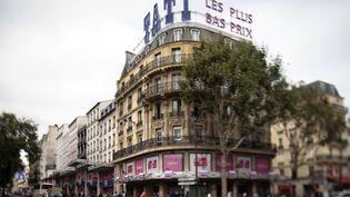 Le toit du magasin Tati à Paris, le 18 septembre 2012. (Photo d'illustration) (JOEL SAGET / AFP)