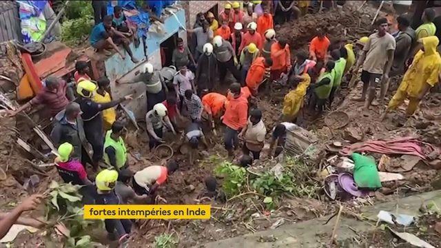 Inde : des intempéries aux conséquences dramatiques
