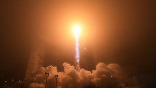 Décollage de la mission InSight de la Nasa, le 5 mai 2018 en Californie (Etats-Unis). (ROBYN BECK / AFP)