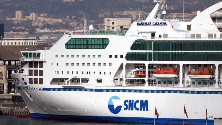 Plus d'une dizaine de personnes, dont des marins de la compagnie maritime SNCM, ont été mises en examen et écrouées en septembre dans une affaire de trafic entre la Corse et Marseille. (PASCAL POCHARD / SIPA)