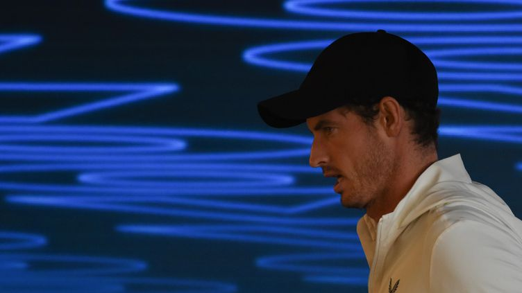L'ancien numéro un mondial, Andy Murray. (GREG WOOD / AFP)