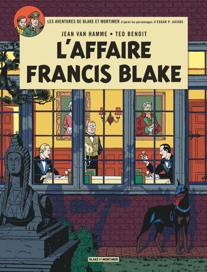 """Reprise des """"Aventures de Blake et Mortimer"""" d'Edgar P. Jacobs, sous la plume de Jean Van Hamme et le crayon de Ted Benoît : une véritable réussite éditoriale et artistique.  (Editions Blake et Mortimer)"""