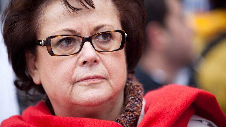 L'ancienne ministre du Logement, Christine Boutin, le 22 janvier 2012, à Paris. (MAXPPP)