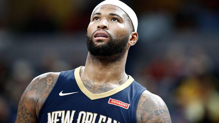 Le pivot star de la Nouvelle-Orléans DeMarcus Cousins rejoint Golden State. (ANDY LYONS / GETTY IMAGES NORTH AMERICA)