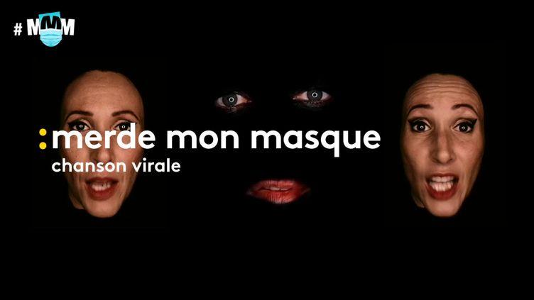 """Le clip de """"Merde mon masque"""" Fred 209 (France 3 Normandie)"""