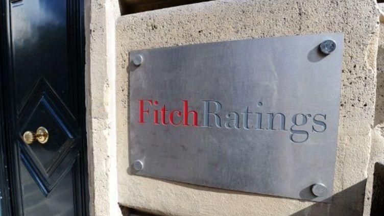 L'agence Fitch Ratings de Paris. (MIGUEL MEDINA / AFP)