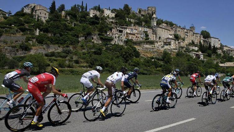 L'échappée de la 16e étape entre Vaison-la-Romaine et Gap