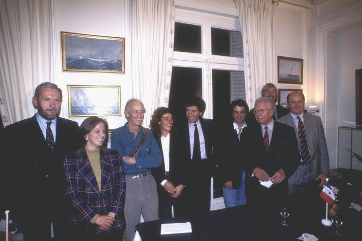 La génèse du projet au yacht club de France en 1992