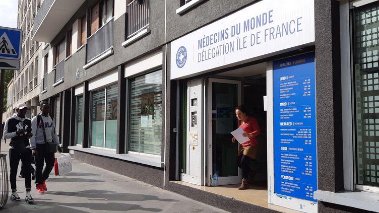 Le centre d'accueil de Médecins du Monde dans le XIIe arrondissement de Paris. (BENJAMIN ILLY / FRANCEINFO)