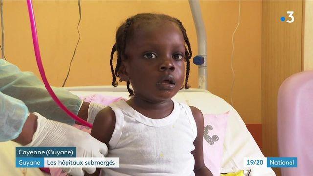 Covid-19 : la situation se tend en Guyane, de plus en plus d'enfants impactés