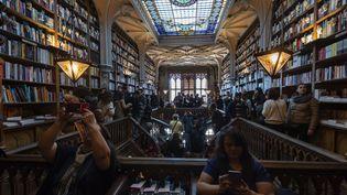 La librairie Lello au Portugal  (MIGUEL RIOPA / AFP)