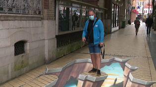 Cet été, le Street Art Festival s'affiche en grand sur les murs de Calais (Pas-de-Calais). Des artistes français et une new-yorkaise ont créé des œuvres impressionnantes. (FRANCE 3)
