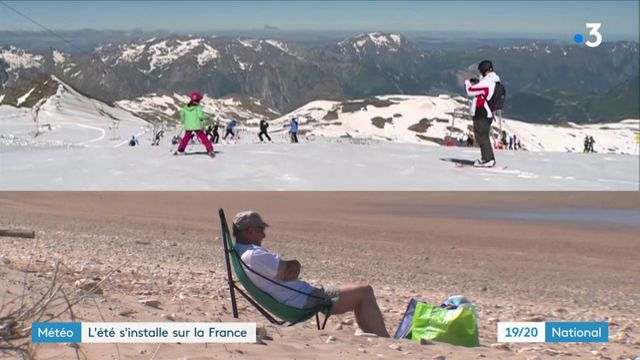 Météo : l'été s'installe sur la France