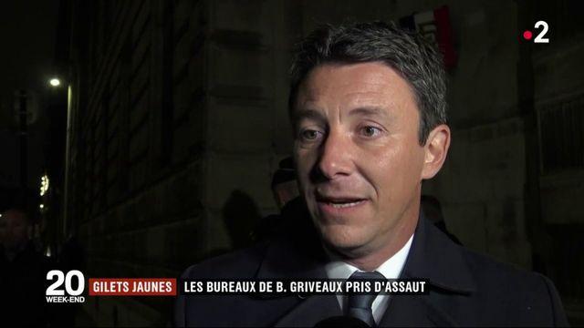Gilets jaunes : les bureaux de Benjamin Griveaux pris d'assaut