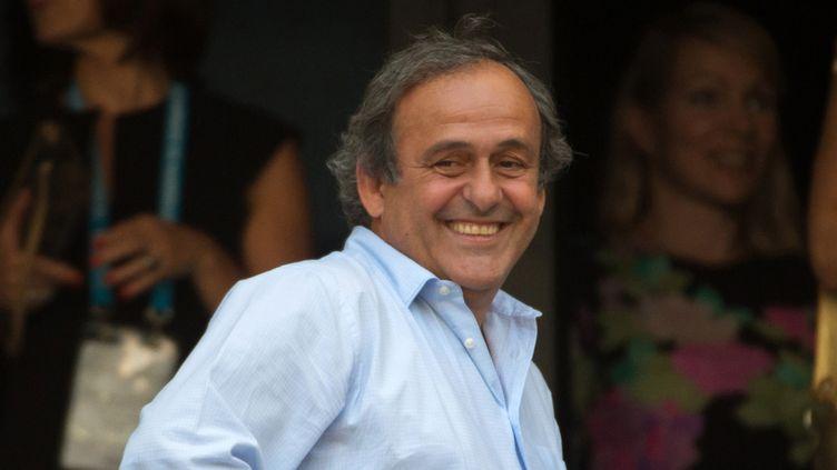 Michel Platini sera soutenu dans sa course à la présidence de la FIFA (BERTRAND LANGLOIS / AFP)