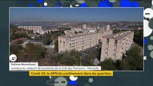 Un quartier de Marseille (FRANCEINFO)