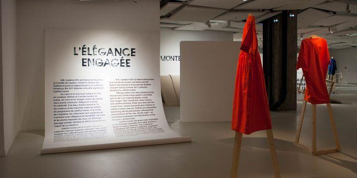 """Exposition """"L'élégance engagée"""" à la Galeries des Galeries..  (WeareMB)"""