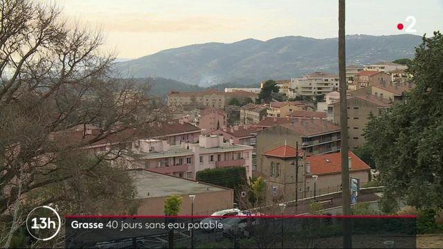 Grasse : les habitants privés d'eau potable depuis quarante jours