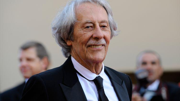 L'acteur Jean Rochefort lors de la 62e cérémonie du festival de Cannes, le 13 mai 2009. (ANNE-CHRISTINE POUJOULAT / AFP)
