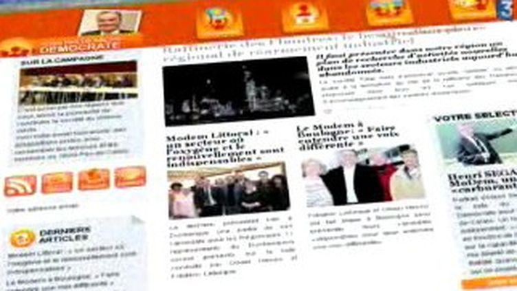 Tous les partis, quelque soit leur taille, ont une activité virulente sur le web (France 3 Lille)