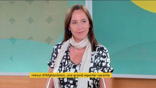 Dorothé Ollieric, grande reporterdeFrance 2, le 16 septembre sur la chaîne franceinfo. (FRANCEINFO)
