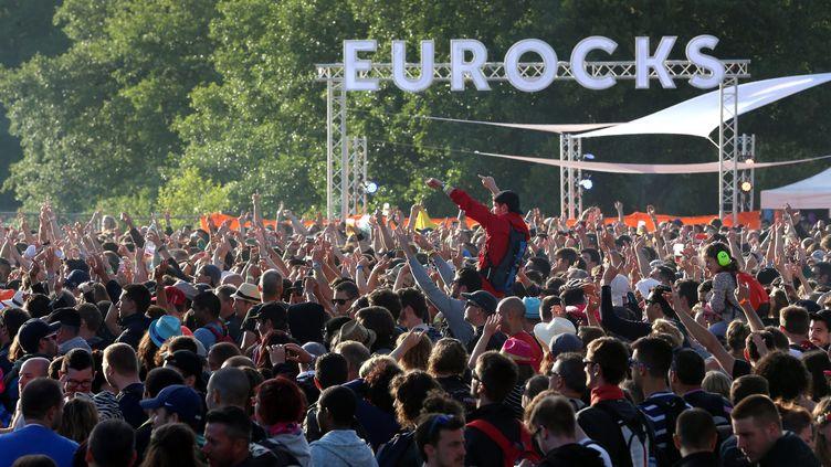 En 2016, près de 104.000 festivaliers étaient venus aux Eurockéennes. (/NCY / MAXPPP)