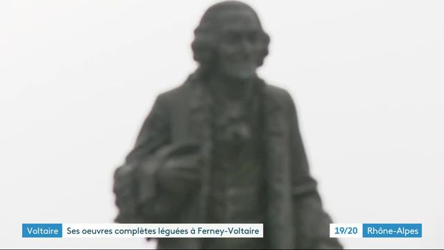 À Ferney, une famille lègue 30 livres de Voltaire vieux de 253 ans