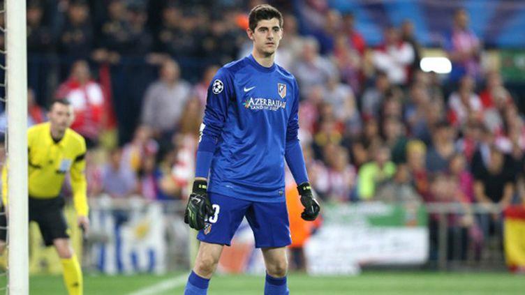 Thibaut Courtois symbole du match entre l'Atletico Madrid et Chelsea (MANUEL BLONDEAU / AOP PRESS)