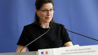 La ministre de la Santé, Agnès Buzyn, le 5 juillet 2017 à Paris. (THOMAS SAMSON / AFP)