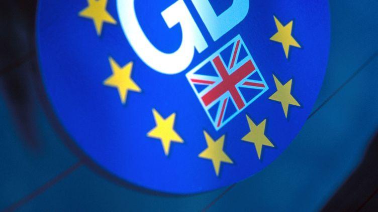 Sellon un sondage BVA pour Le Parisien, samedi 26 janvier,52% des Français seraient favorables à une sortie du Royaume-Uni de l'Union Européenne. (PETER SCHOLEY / AFP)