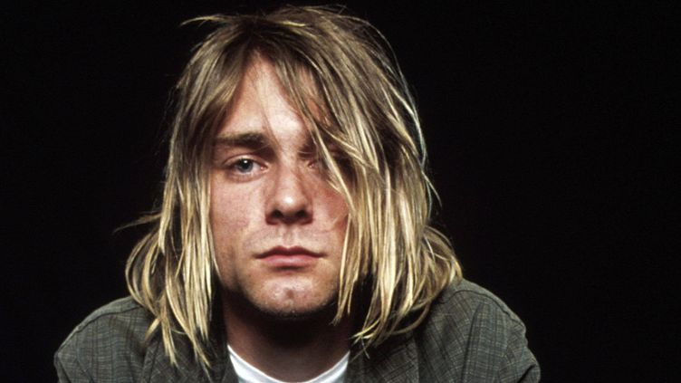 "Kurt Cobain (photo non datée extraite d'un livre sorti en Espagne, ""Kurt Cobain, la historia de Nirvana"")  (EFE / Newscom / MaxPPP)"