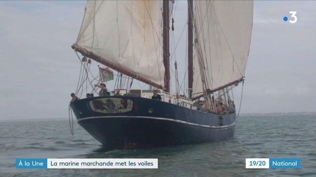 Le Gallant, un navire marchand qui n'utilise que ses voiles