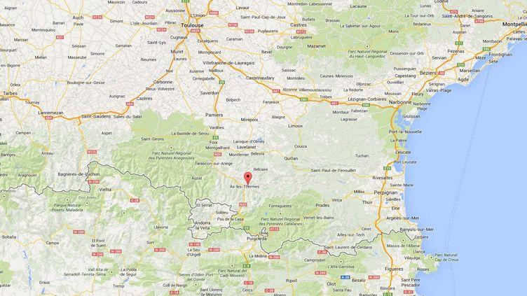 La colonie de vacances se situe à Ascou, dans l'Ariège. (GOOGLE MAPS)
