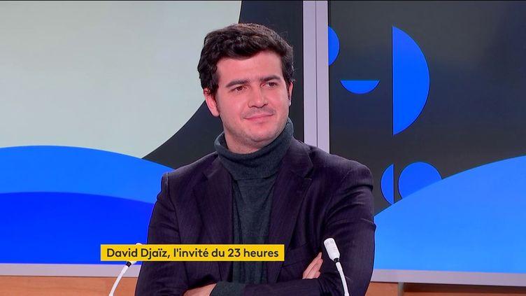 David Djaïz (FRANCEINFO)