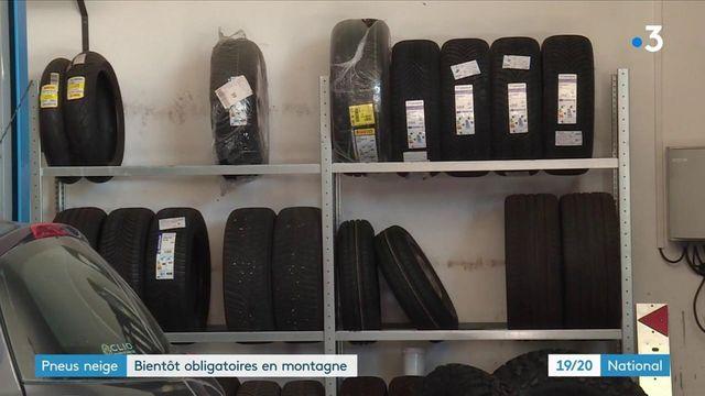 Montagne : les pneus neige bientôt imposés dans 48 départements