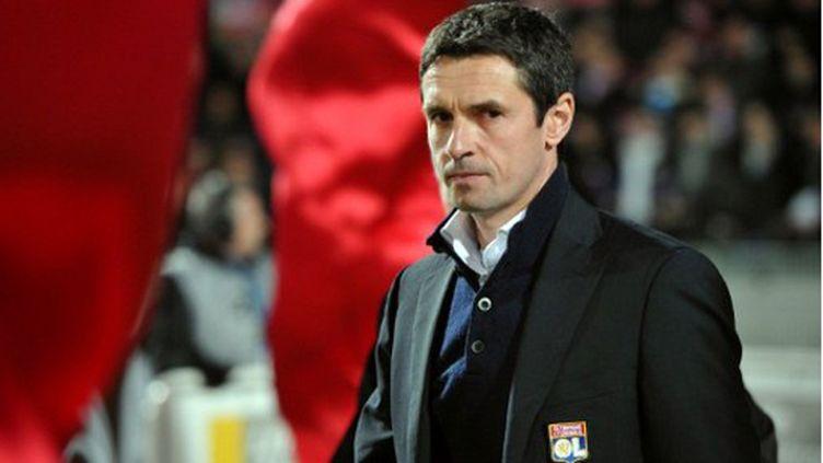L'entraineur de Lyon Rémi Garde