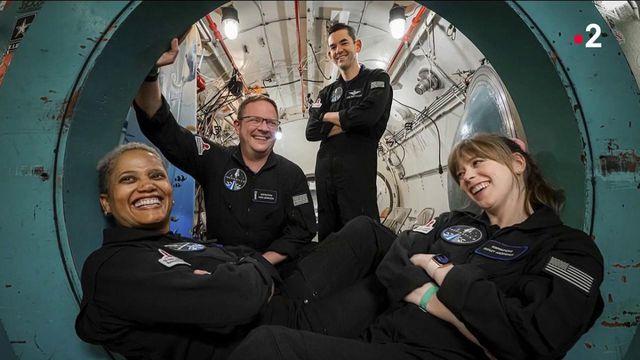Tourisme spatial : à quoi ressemble un voyage entre amateurs ?